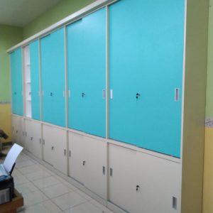 Lemari Set Minimalis Kantor